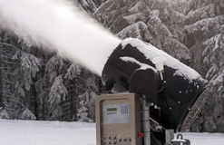 Fabricante de la nieve Imagen de archivo