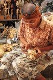 Fabricante de madera de la marioneta Fotografía de archivo libre de regalías