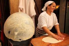 Fabricante de massa de pão imagens de stock
