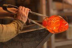 Fabricante de vidro Foto de Stock Royalty Free