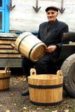 Fabricante de vinos Imágenes de archivo libres de regalías