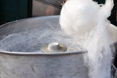 Fabricante del caramelo de algodón foto de archivo