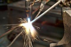 Fabricante del metal Imágenes de archivo libres de regalías