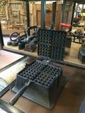 Fabricante do waffle do ferro fundido Imagem de Stock
