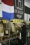 Fabricantes de cerveja do grande festival britânico da cerveja Imagens de Stock