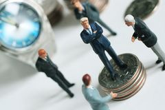 Fabricantes de dinheiro Fotos de Stock Royalty Free