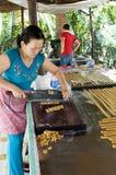 Fabricantes del caramelo Fotos de archivo