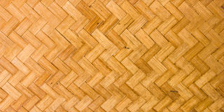 Fabricated bamboo bark Stock Image