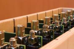 Fabrication électronique Image libre de droits