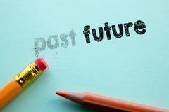 Fabrication au delà dedans à l'avenir par la gomme Image libre de droits