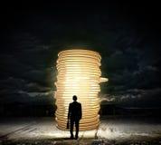 Fabrication d'argent photographie stock libre de droits