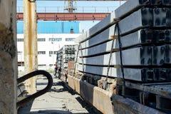 Fabrication d'industrie lourde Photographie stock libre de droits
