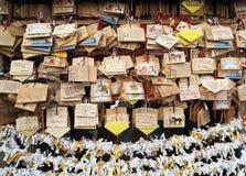 Fabrication d'un souhait d'une manière traditionnelle asiatique Image stock