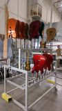 Fabrication de guitare Photographie stock