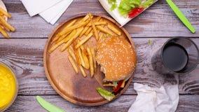 Fabrication de l'hamburger clips vidéos