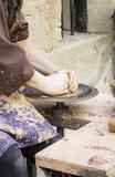 Fabrication de potier Images stock