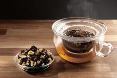 Fabrication de thé photo stock
