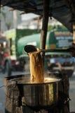 Fabrication de thé Photographie stock libre de droits