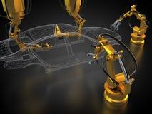 Fabrication de véhicule Photo stock