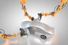 Fabrication de véhicule Photos libres de droits