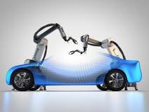 Fabrication de véhicule Photo libre de droits