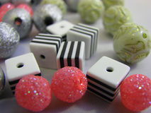 Fabrication des perles Photo libre de droits
