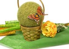 Fabrication du bouquet des fleurs Photo libre de droits