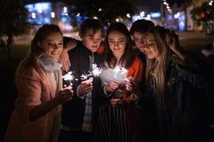 Fabrication du processus de souhait Miracle de attente de nouvelle année Images libres de droits