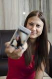 Fabrication du selfie Photographie stock libre de droits