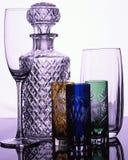 Fabrication du verre rétro-éclairée Photo stock