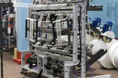Fabrication en plastique de pointe de tasse industrielle image libre de droits