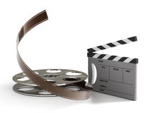 Fabrication of the film Royalty Free Stock Photos