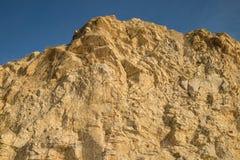 Fabrication sur une falaise Photographie stock libre de droits