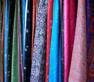 Fabrics Royalty Free Stock Photography