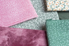 Fabrics Royalty Free Stock Photography