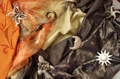 Fabrics Royalty Free Stock Photo