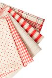 Fabrics and accessories for needlework Stock Photography