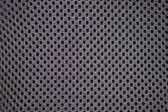 Fabrics, artificial, black colour, close-up Stock Photos