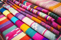 Fabrics crafts Stock Photography