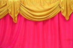 Fabrics decoration Royalty Free Stock Photos