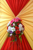 Fabrics decoration Royalty Free Stock Images