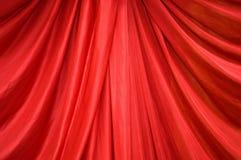 Fabrics decoration. Luxury of red fabrics decoration Stock Photos