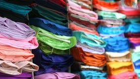 Fabrics Display #2 Stock Photos