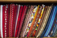 Fabrics Stock Photography