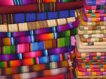 Fabrics of Guatemala Royalty Free Stock Images