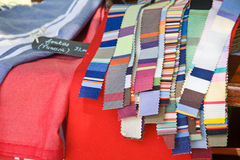 Fabrics Strips Stock Photography