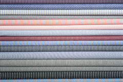 Fabrics textile. Cotton Fabric Sample.  royalty free stock images