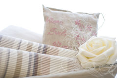 Fabrics and textile products Royalty Free Stock Photo