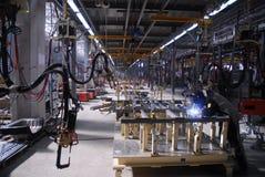 Fabriek 17 Stock Foto's