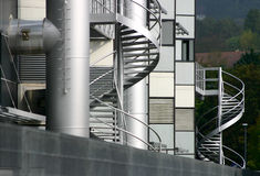 Fabriek #4 Stock Afbeelding